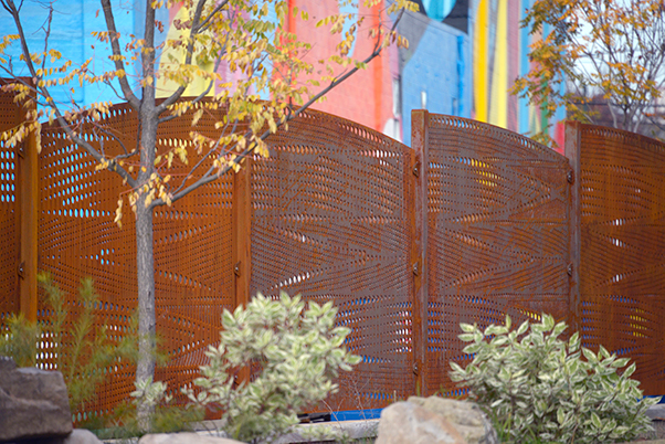 Railroad Switch - Decorative Screen